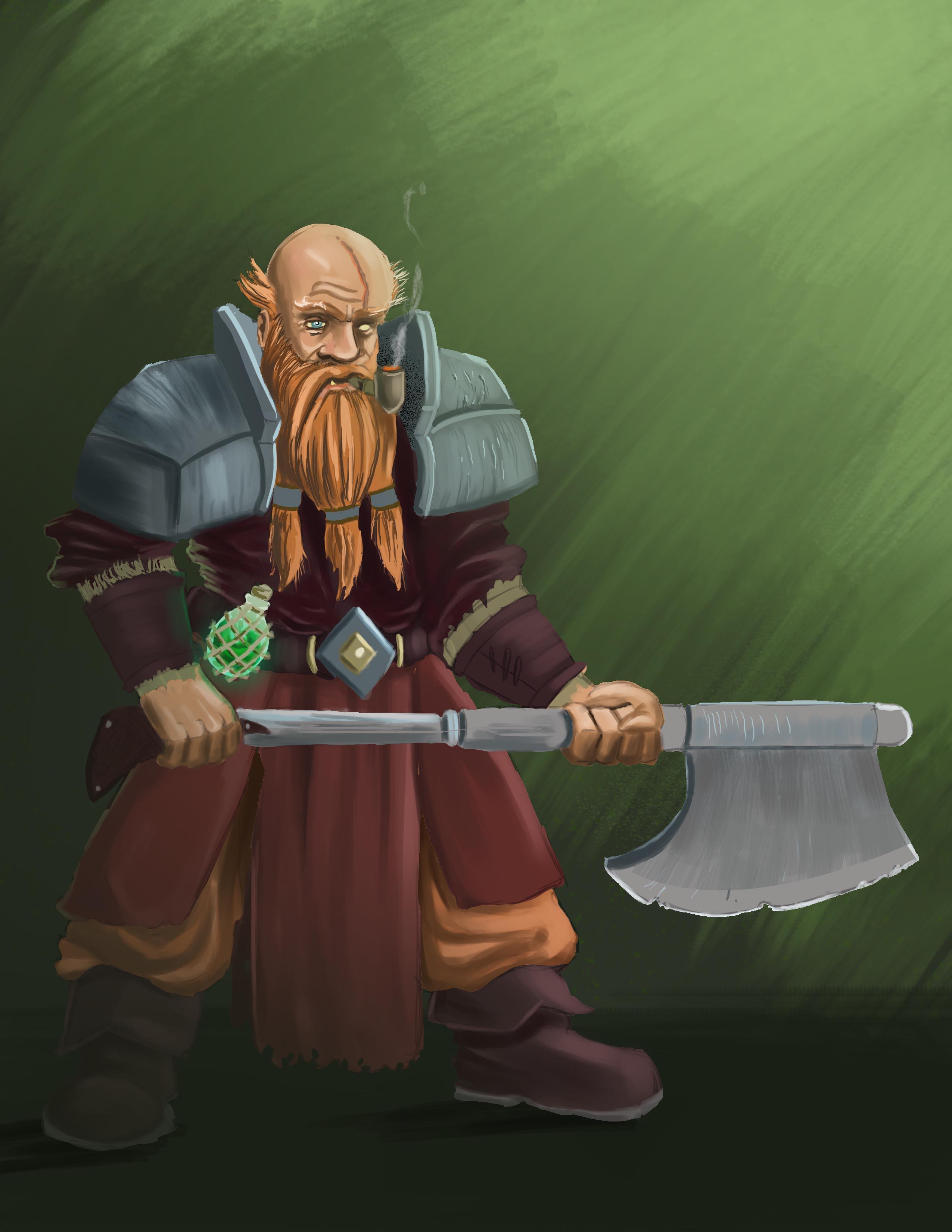 The Dwarf Captain