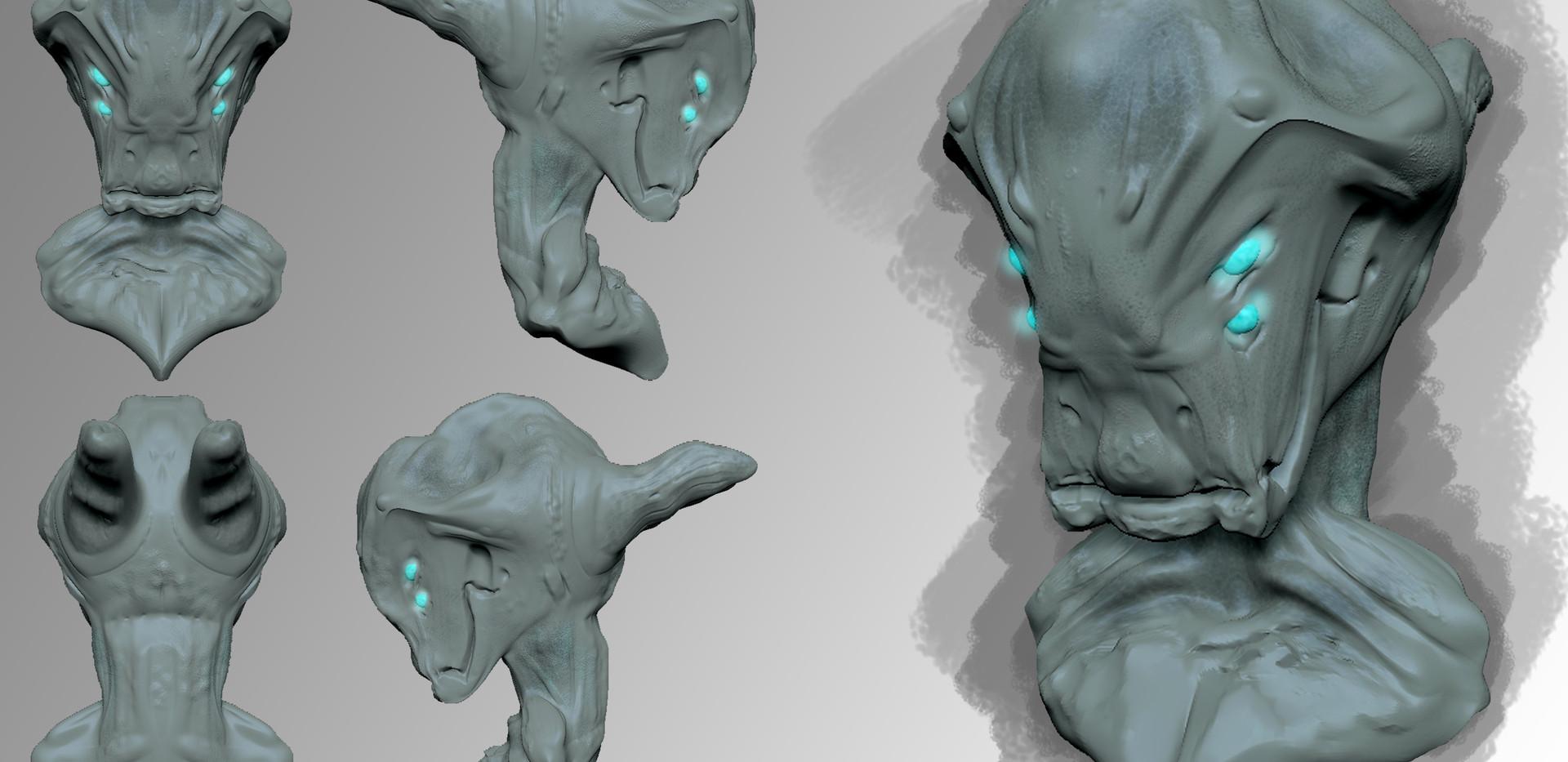Alien Head Layout