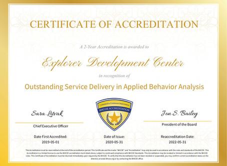 BHCOE Reaccreditation