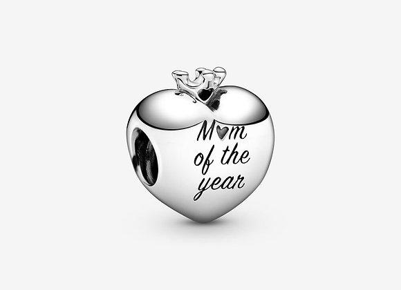 Charm Cœur Mum Of The Year (Maman de l'Année)