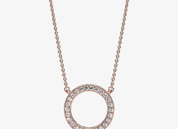 Collier Cercle Scintillant