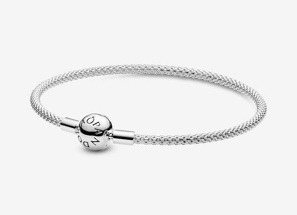 Bracelet en Maille Tissée Pandora Moments