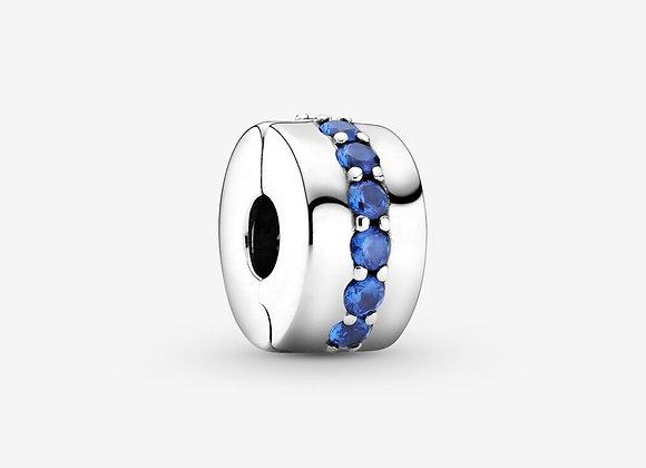 Charm Clip Éclat Bleu