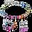 Thumbnail: Bracelet GeoCUBE® multicolore rainbow