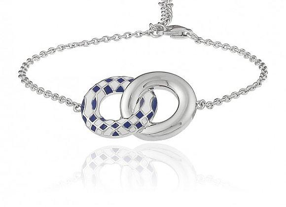 Bracelet Damier Bicolore