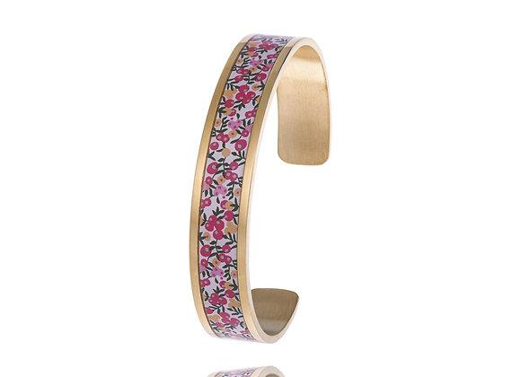 Bracelet rose fleurs