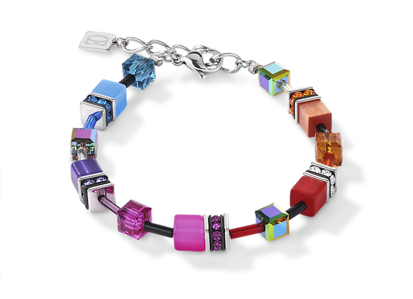Bracelet GeoCUBE® multicolore rainbow