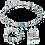 Thumbnail: Collier GeoCUBE® aqua
