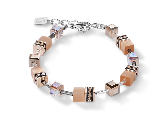 Bracelet GeoCUBE® peach