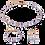 Thumbnail: Collier GeoCUBE® Améthyste clair & hématite lilas