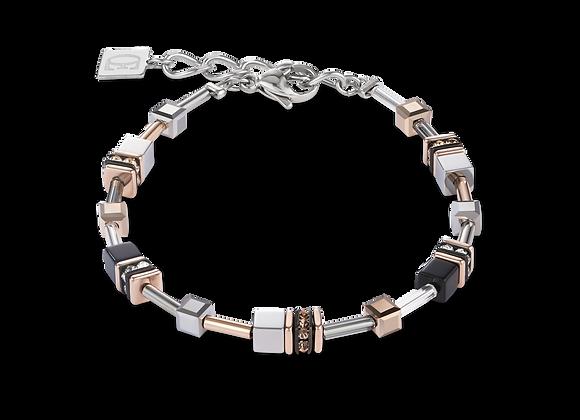 Bracelet GeoCUBE® Multitask or rose-argent