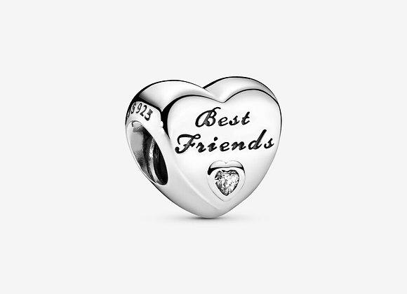 Charm Cœur Meilleures Amies