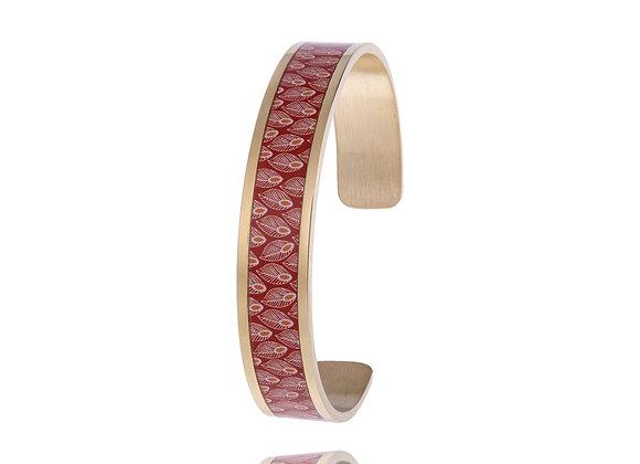 Bracelet feuille automne