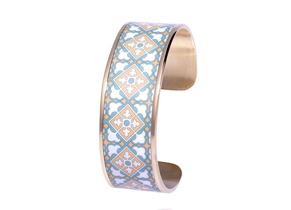 Bracelet bohème chic Mosaïque de printemps