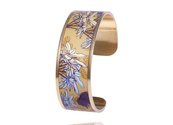 Bracelet fleurs poignet Agapanthe