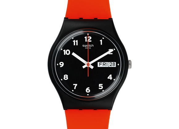 SWATCH POWER TRACKING RED GRIN