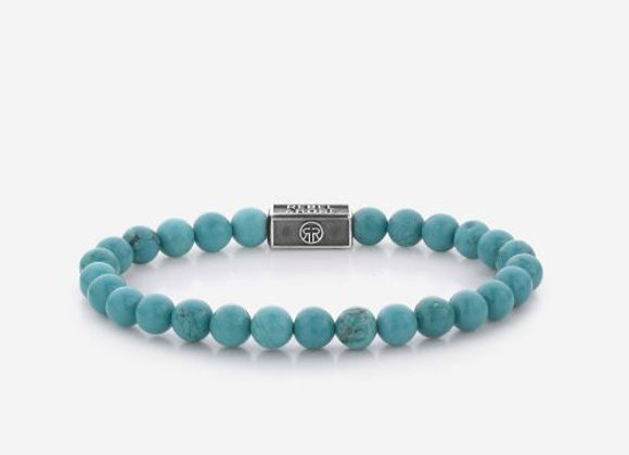 Rebel&Rose Silverbead - Turquoise Delight 925 - 6mm