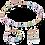 Thumbnail: Collier GeoCUBE® multicolore-cristal