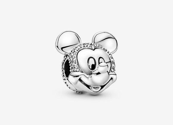 Charm Clip Pavé Disney Mickey
