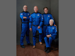 Jeff Bezos, the founder of amazon, ready to take off to space
