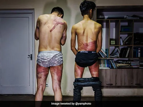Two Afghan journalists brutally beaten for reporting women protests, against their rights, in Kabul.
