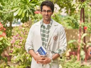 Ayushmann's attire in Doctor G