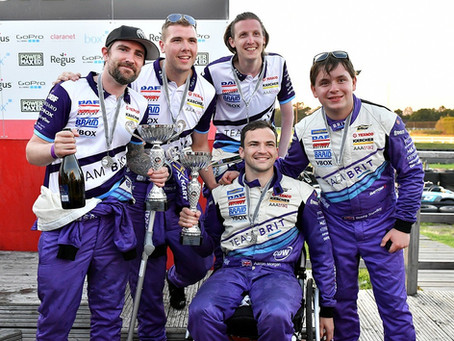 Matty takes on F1 stars in charity karting event