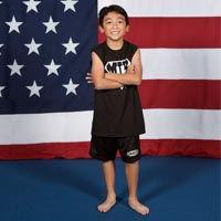boy gymnast Holland Photo