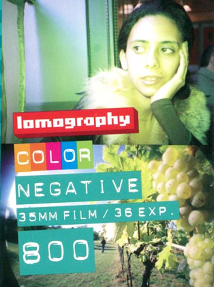 Lomography 800 Color Negative Film (35mm)