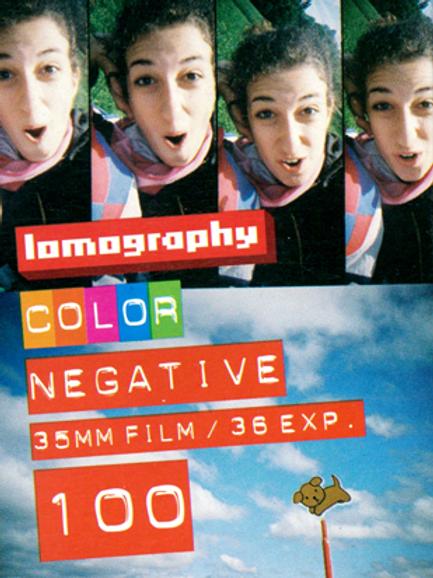 Lomography 100 Color Negative Film (35mm)