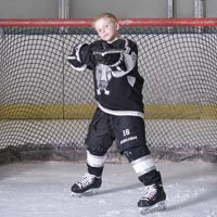 boy ice hockey Holland Photo
