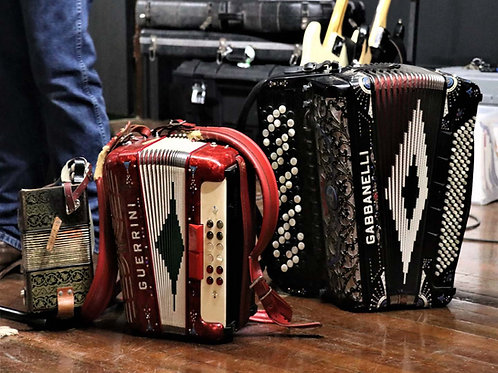 Dueling Accordions at Knights of Columbus Hall