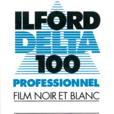 Ilford Delta 100 Professional Black and White Negative Film