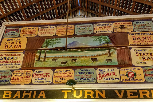 Stage Ads at La Bahia Turn Verein