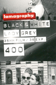 Lomography Lady Gray 400 Black and White Negative Film (35mm)