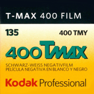 Kodak Professional T-Max 400 Black and White Negative Film