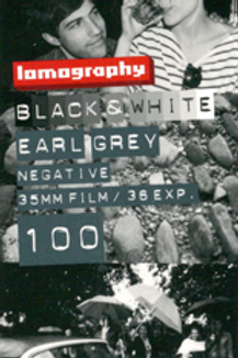 Lomography Earl Gray 100 Black and White Negative Film (35mm)