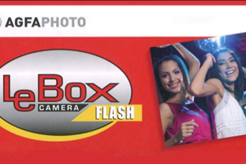 AgfaPhoto Le Box Disposable Camera - Flash