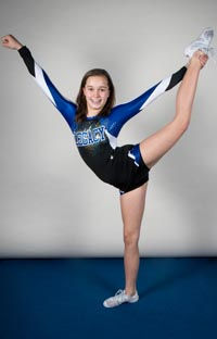 girl cheerleader Holland Photo