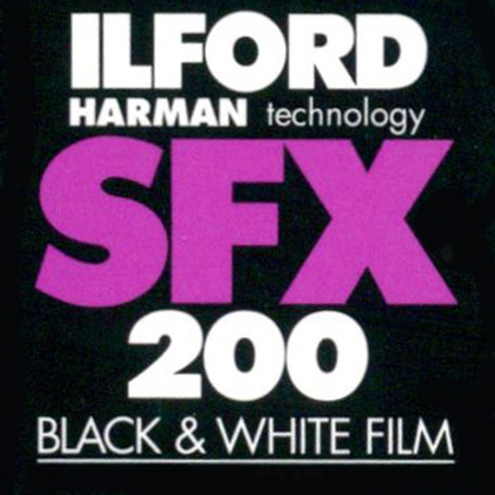 Ilford SFX 200 Black and White Negative Film