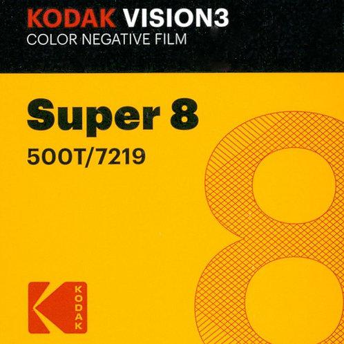 Kodak VISION3 500T Color Negative Film