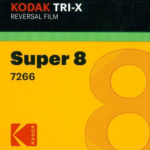 Kodak Tri-X Reversal Film Super 8 7266