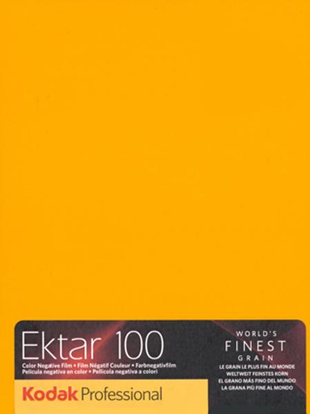 Kodak Professional Ektar 100 Color Negative Sheet Film