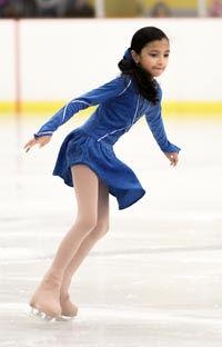 girl ice skater Holland Photo