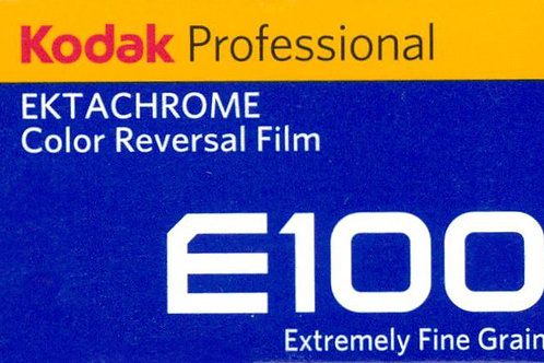 Kodak Professional Ektachrome E100 Color Transparency Film