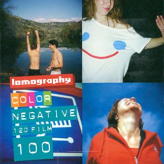 Lomography100 Color Negative Film (120)