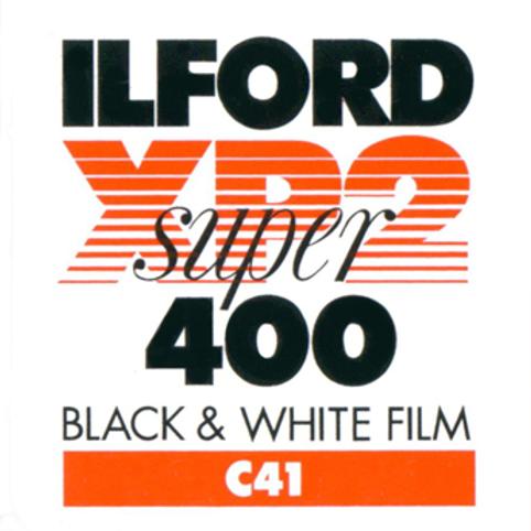 Ilford XP2 Super 400 Black and White Negative Film