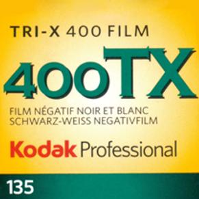 Kodak Professional Tri-X 400 Black and White Negative Film