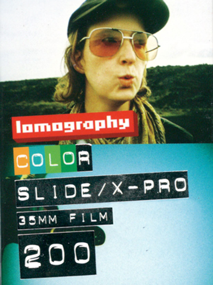 Lomography X-Pro Slide 200 Color Transparency Film (35mm)