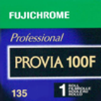 Fujifilm Fujichrome Provia 100F Color Transparency Film